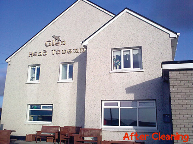 exterior wall cleaning Drogheda